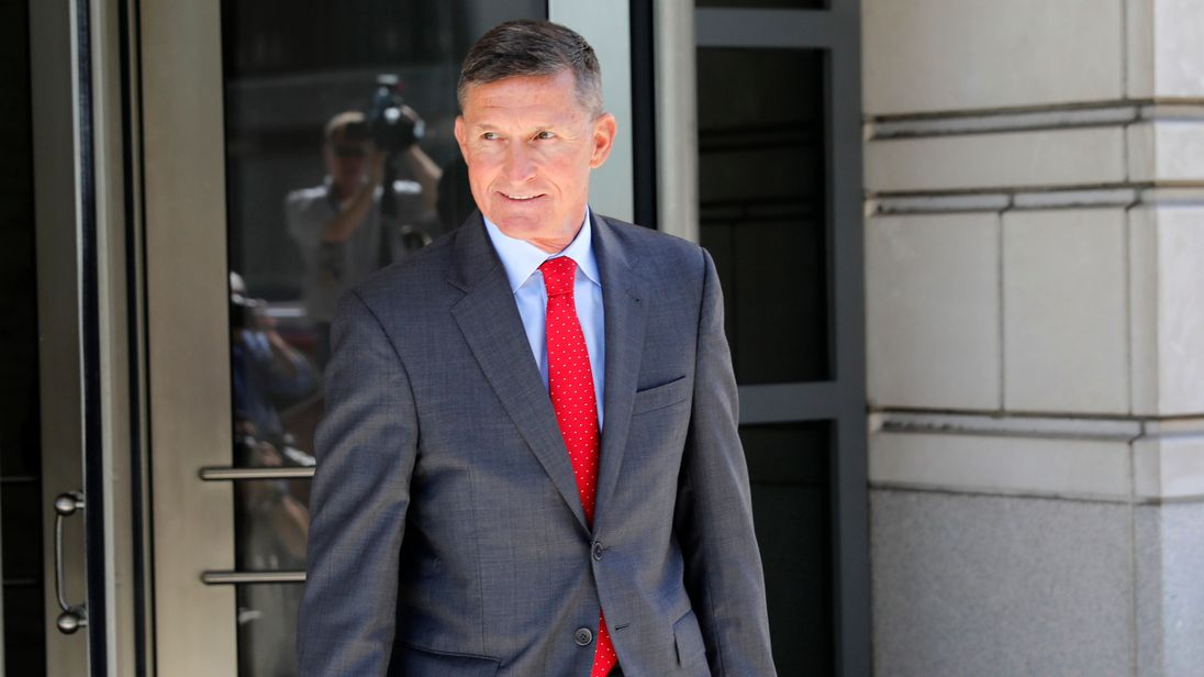 Michael Flynn has co-operated with the investigation into Russian collusion