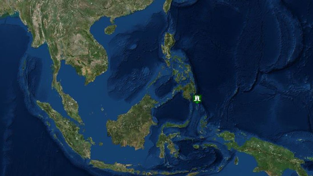 6 9 magnitude earthquake strikes southern philippines