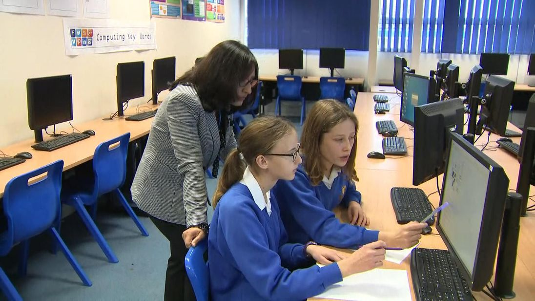 Girls from the Piggott School in Berkshire will be entering the competition