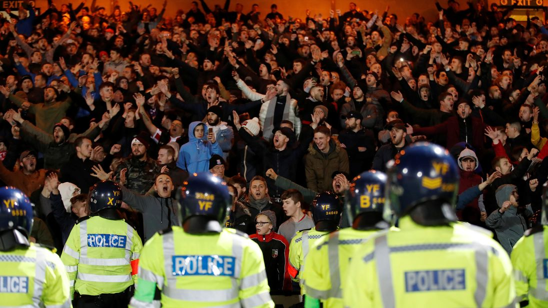 Port Vale v Stoke under-21s: Eleven arrests in local derby trouble