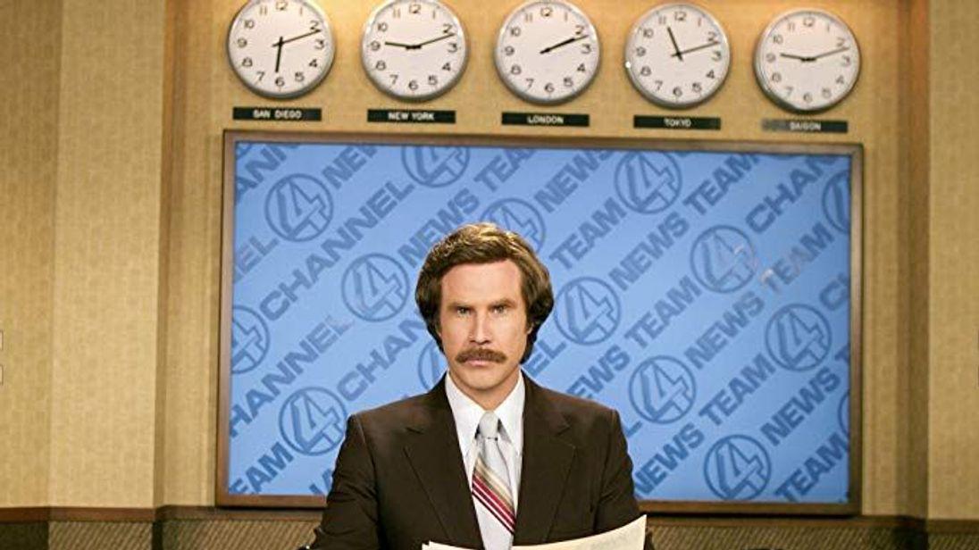 Ron Burgundy (Will Ferrell), Anchorman