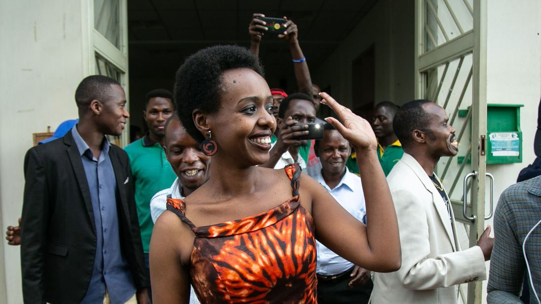 Rwanda's most high-profile opposition figure acquitted of