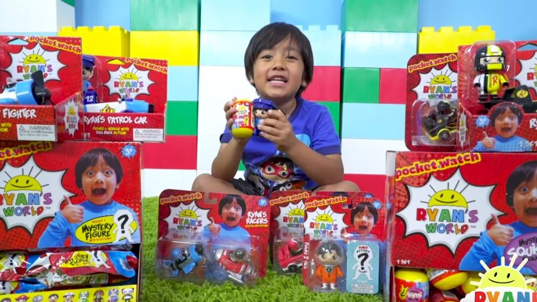 Ryan is the highest-earning You Tuber in the world. Pic YouTube  RyanToysreview