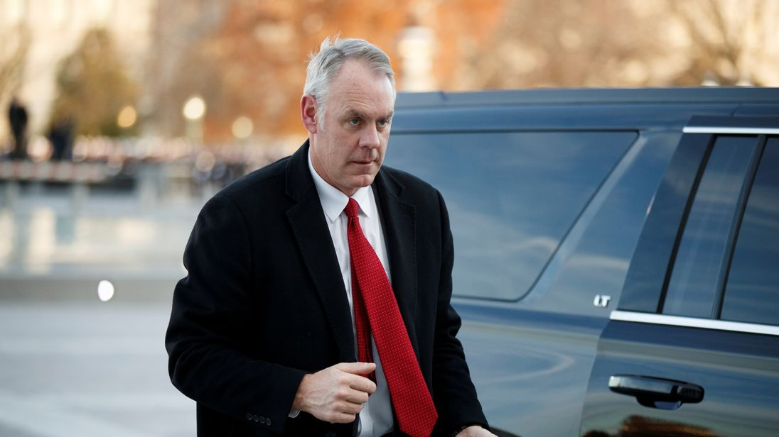 Interior Secretary Zinke leaving administration