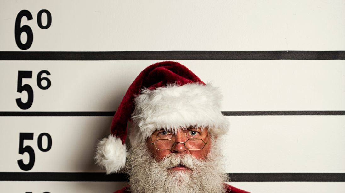 Santa on the naughty list after 'swearing at children'