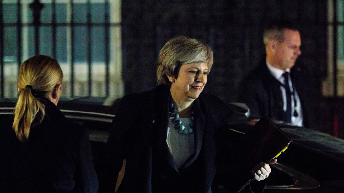 Mrs May hopes she will be thrown a lifeline by European leaders