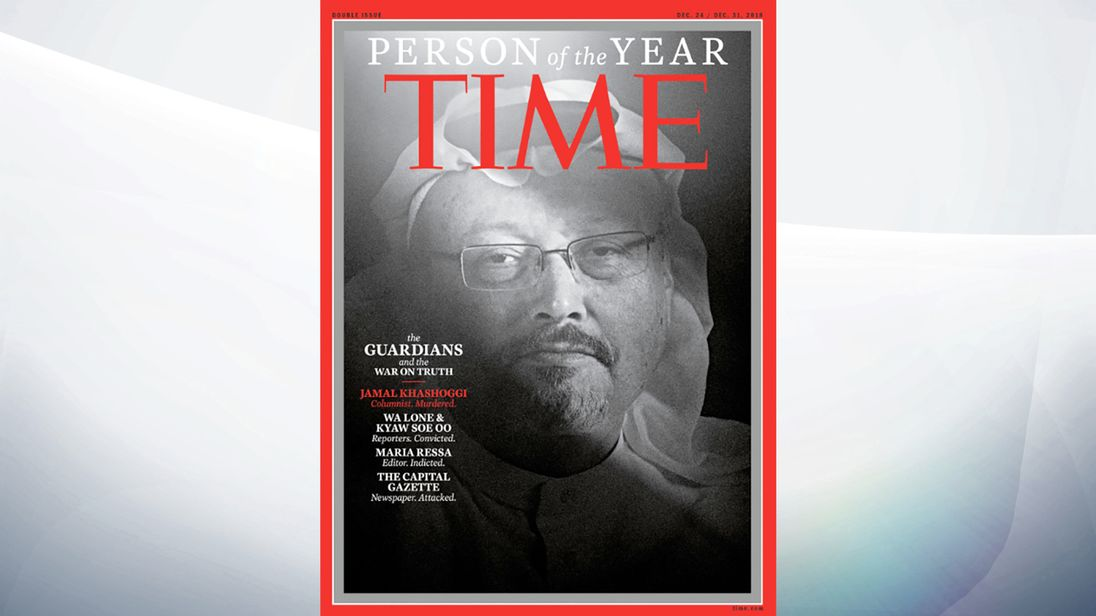 'The Guardians' For Truth Named Time Magazine's 2018 Person Of The Year