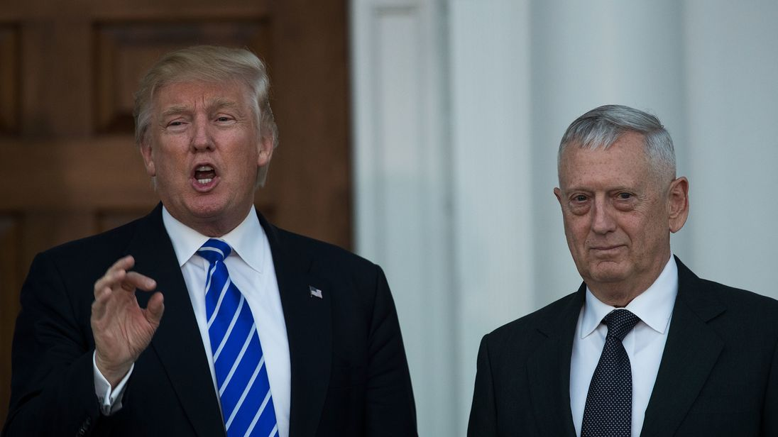 Mattis' departure from White House expedited as Trump announces replacement