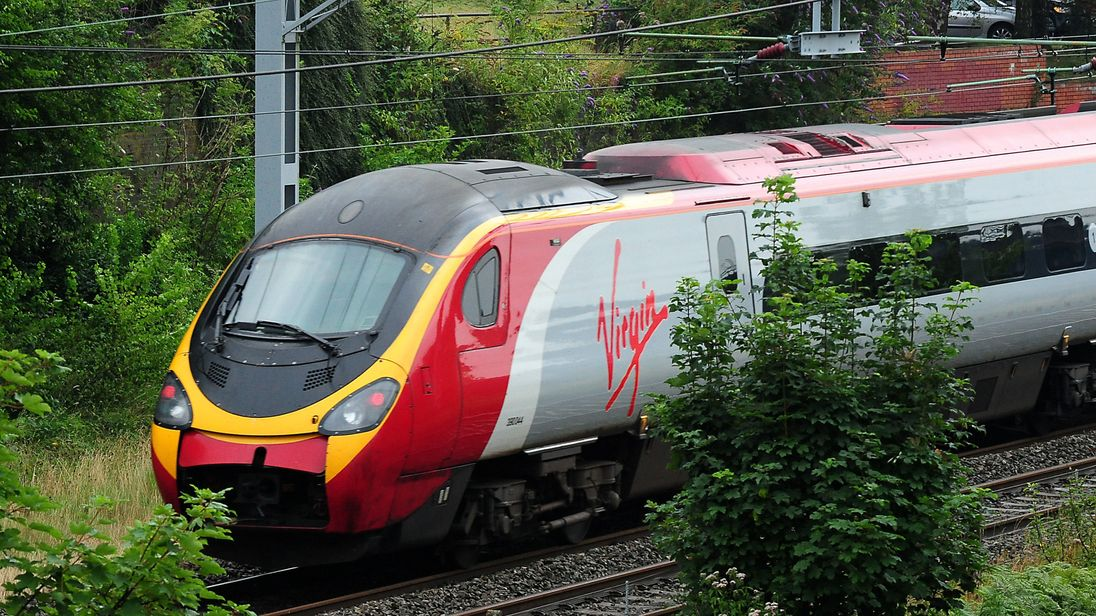 File photo dated 15/08/12 of a Virgin train