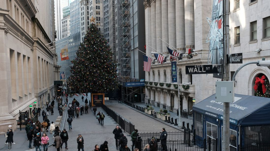 Wall Street shares set course for grim end to year