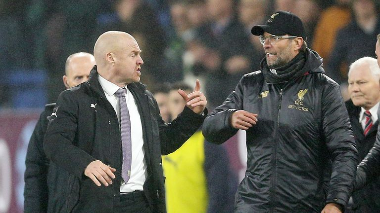Mark Schwarzer and Danny Higginbotham said on The Debate they understand why Sean Dyche was frustrated with Jurgen Klopp's comments