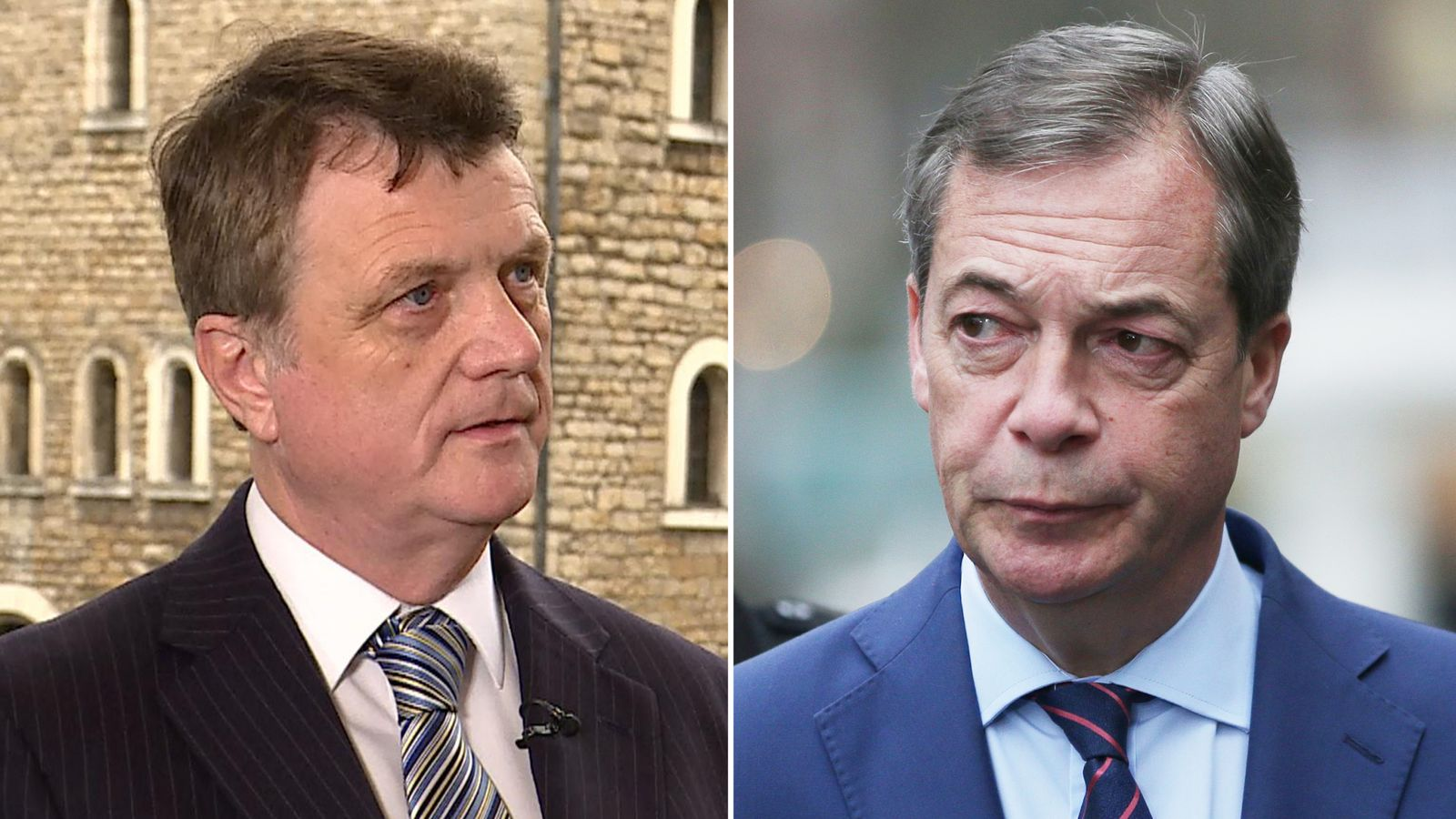 UKIP leader Gerard Batten accuses Nigel Farage of 'sour grapes' for quitting party