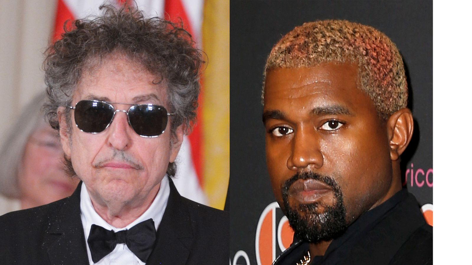 Kanye knock-knock-knockin' on Bob Dylan's door