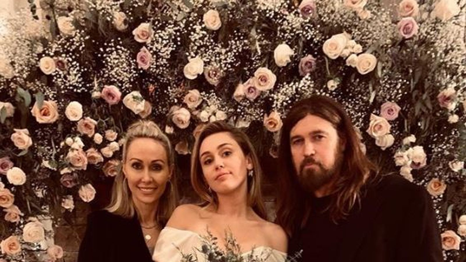 Billy Ray Cyrus congratulates daughter Miley on marriage ...