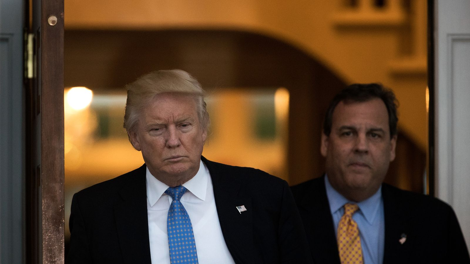 Chris Christie pulls out of the running for Trump's new chief of staff