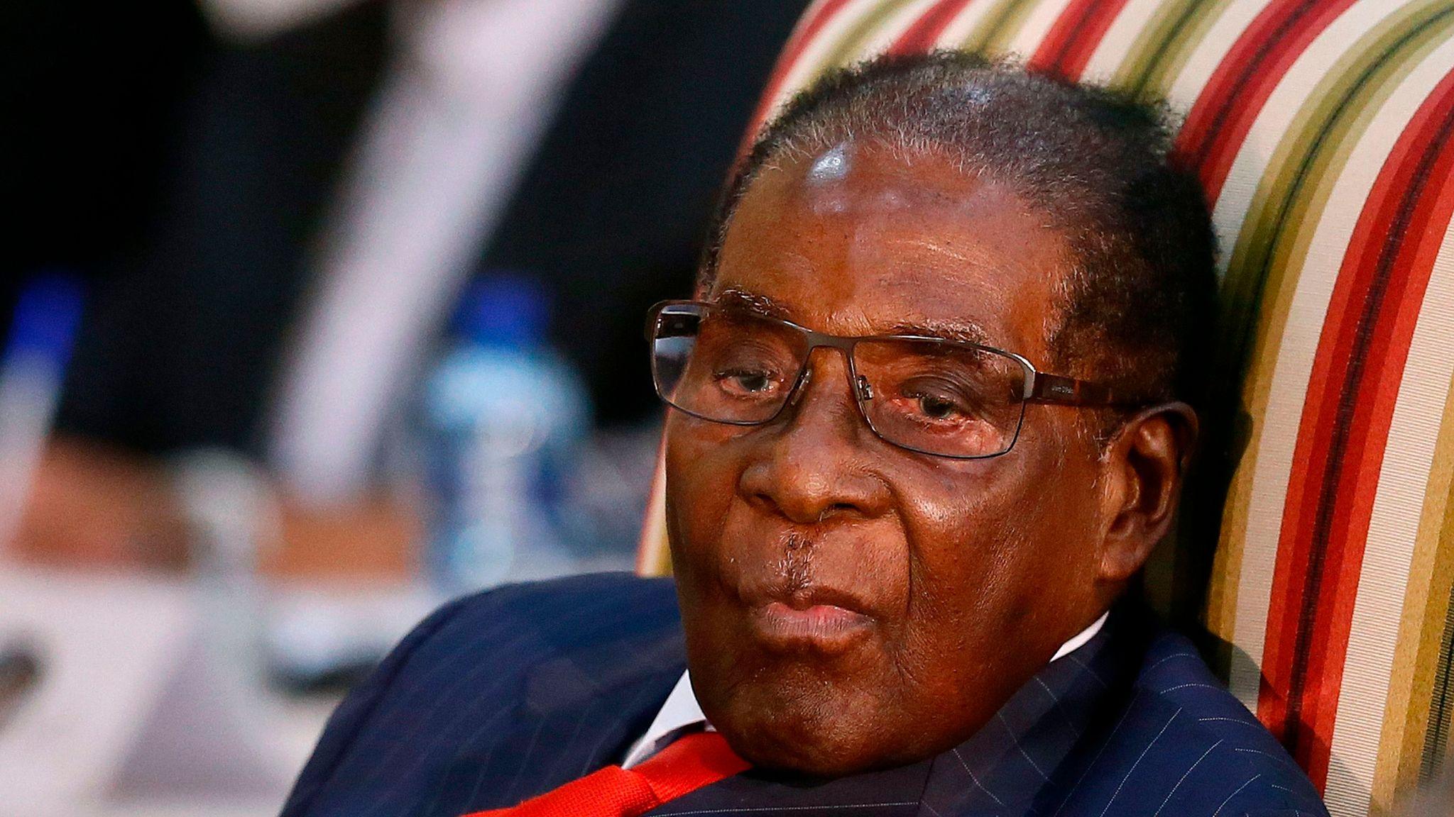 Robert Mugabe: Former president of Zimbabwe dies aged 95