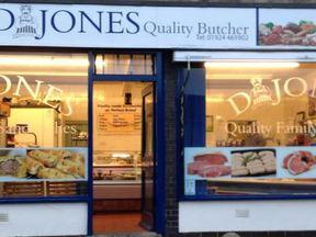 David Jones runs a popular butcher in Dewsbury
