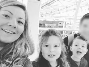 Mother Justine, children Isabella and Harvey have died in a fire that left dad Gavin in hospital