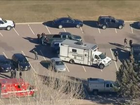 The incident has meant schools in Jefferson County have been put on lockdown.