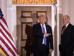 Donald Trump and John Kelly have worked together for 16 months