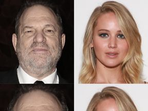 Harvey Weinstein is alleged to have bragged about sleeping with Jennifer Lawrence