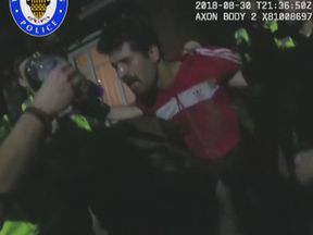 Janbaz Tarin was pepper-sprayed by police during his arrest. Pic: West Midlands Police