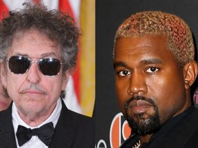 Bob Dylan and Kanye West