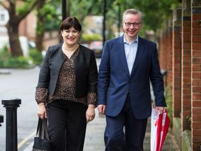 Michael Gove and his wife Sarah Vine have paid tribute to the NHS after their son's accident