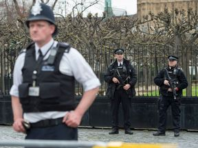The lack of armed police at the public entrance was a 'matter of concern'