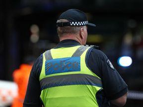 Police officer in Melbourne