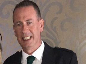 Ross Jones Barker was pronounced dead at the scene. Pic: Police Scotland