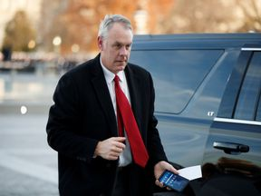Ryan Zinke is the latest in a series of high-profile departures from the US president's administration.