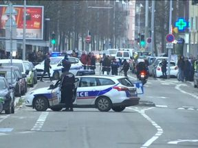 A police operation is ongoing in Strasbourg