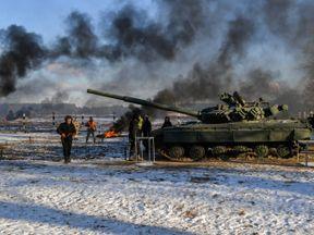 Ukrainian president Petro Poroshenko has called up reservists