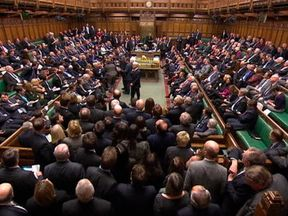 MPs will vote in the Commons on a motion supporting the Withdrawal Agreement