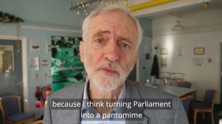 Jeremy Corbyn released a video on his Twitter account