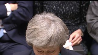 Theresa May explains to the House of Commons why she is delaying a crucial Brexit vote.