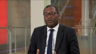 junior Brexit minister Kwasi Kwarteng