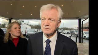 David Davis says Theresa May's deal won't pass