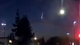 Mysterious light seen across California night sky