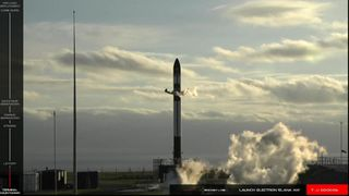 Private NASA rocket launches in New Zealand