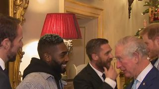 Prince Charles talks about spicy food and social media with Tinie Tempah