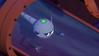 An artist's impression of the micro-robot. Pic: Twenty65.ac.uk