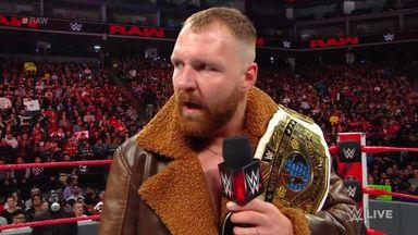 Dean Ambrose tries to provoke Seth Rollins