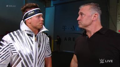 McMahon confronts The Miz