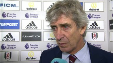 Pellegrini hails 'clinical' Hammers
