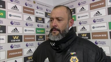 Nuno: I'm very proud of my players