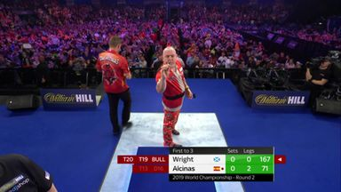 Wright's superb 167 checkout