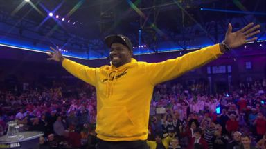 Whyte enters Ally Pally!
