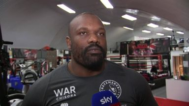 Chisora: Training camp is going great